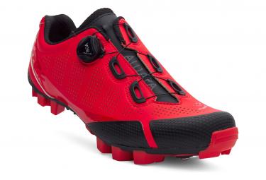 Paire de Chaussures VTT Spiuk Aldapa Mtb Rouge Mate