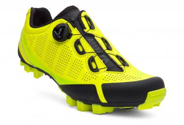 Paire de Chaussures VTT Spiuk Aldapa Mtb Jaune Fluor Mate