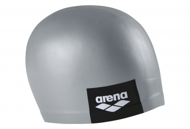 Swimming Cap Arena Logo Molded Gray