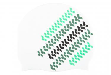 Bonnet de Bain Arena Team Stripe Multi Blanc