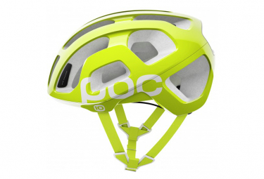 Poc Octal Helm Unobtanium Yellow Lime Green Cannondale