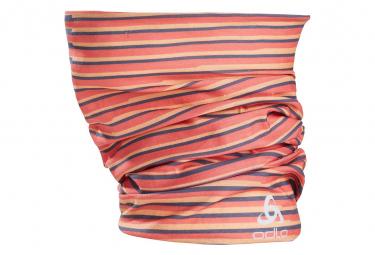 Tour de Cou Odlo Printed Tube Orange Unisex