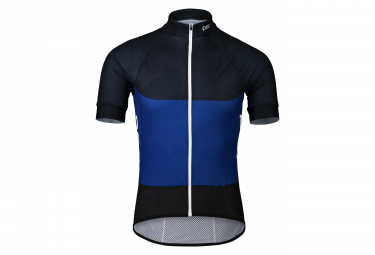 Maglia manica corta Poc Essential Road Light Azurite Multi blu