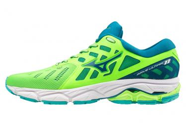 Mizuno Shoes Wave Ultima 11 Green Blue Men