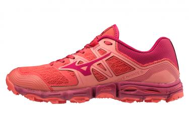 Zapatillas Mizuno Wave Hayate 6 para Mujer Rojo