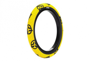 PNEU BMX FEDERAL COMMAND LOW PRESSURE 2.40 YELLOW With Black Logo and Sidewall
