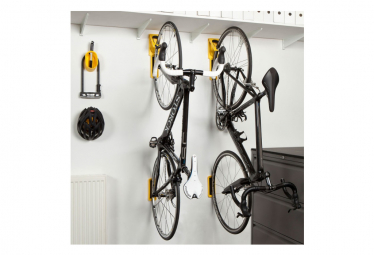 Cycloc Endo Wall Bike Rack Red Orange