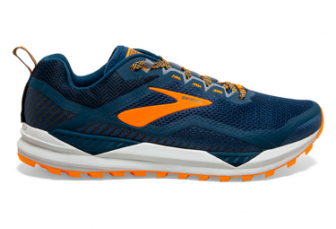 Brooks Cascadia 14 Blue Orange Men