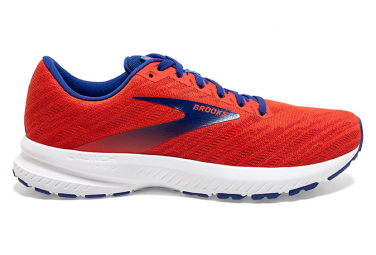 Brooks Running Launch 7 Rouge Bleu Homme