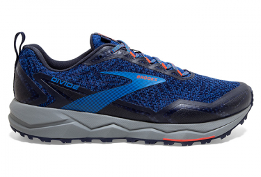 Brooks Running Divide Blue Gris Hombres 45 1 2