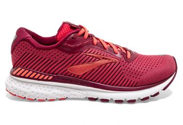 Chaussures de Running Femme Brooks Running Adrenaline GTS 20 Rouge