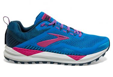 Zapatillas Brooks Running Cascadia 14 para Mujer Azul / Rosa