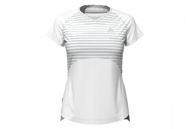 ODLO Shorts sleeve jersey Ceramicool Blackcomb White Women