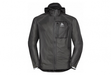 Odlo Zeroweight Dual Dry Chaqueta Impermeable Negro Hombres S