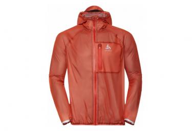 ODLO jacket Zeroweight Dual Dry Waterproof Orange Men