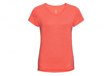 Lou Linencool Odlo Coral Short Sleeve Jersey Woman