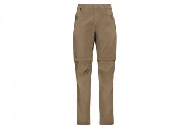Pantalon zippé 2-en-1 Wedgemount Odlo Beige Homme