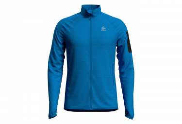 Chaqueta ODLO Steam Intermediate Azul