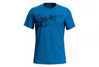 Camiseta ODLO F-Dry Print Azul