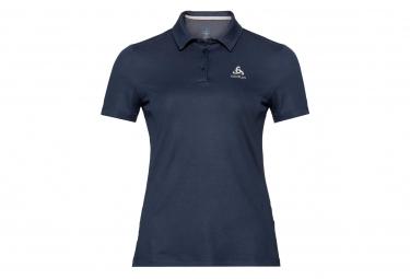 Short Sleeve Polo F-Dry Odlo Blue Woman