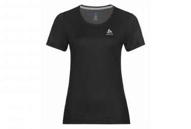 Camiseta ODLO F-Dry Mujer Negra