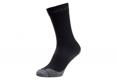 Pair of High Socks Odlo Ceramicool Black Unisex