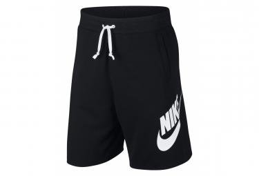 Nike Sportswear Short Noir Noir Blanc Blanc