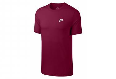 Camiseta de manga corta Nike Sportswear Club Team Rojo Blanco
