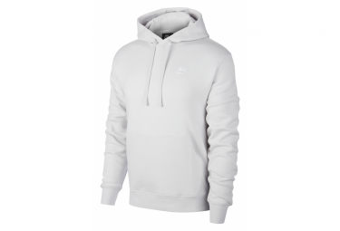 Sweat Nike Sportswear Club Fleece Vast Gris Vast Gris Blanc