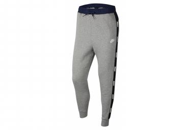 Pantalon Survet Nike Sportswear Dk Gris Bleu Blanc