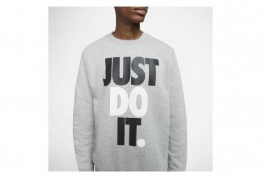 Sweat Nike Sportswear Jdi Gris Heather