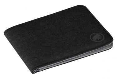 Mammut Flap Wallet Mélange Black OS
