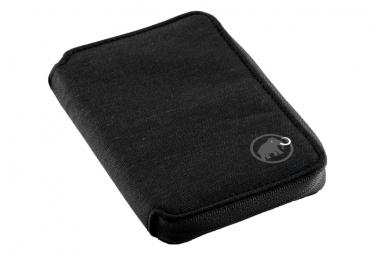 Portefeuille Mammut Zip Wallet Mélange Noir OS