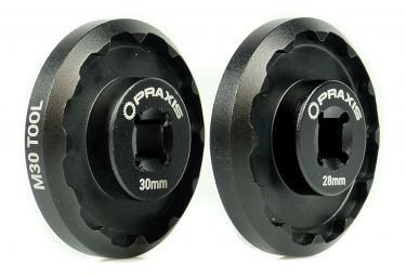 Outil Praxis Works pour boitier M30 - 30/28