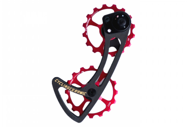 CyclingCeramic Shimano Ultegra 800 Dura Ace 9100/9150 Screed's Screed Red