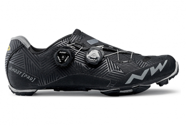 VTT Northwave Ghost Pro Black Shoes