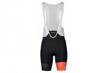 Pantaloncini con bretelle Poc Essential Road VPDS Uranium Black Hydrogen White Orange