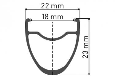Roue Arrière DT Swiss P 1800 Spline 23 | 9x130mm