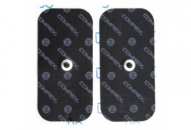 2 Électrodes Compex EasySnap Performance 50X100mm 1 Snap