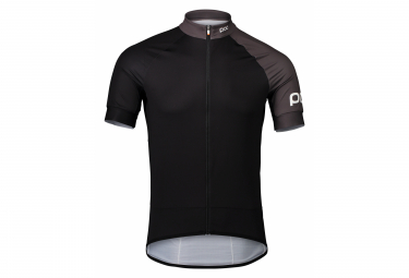 Maglia manica corta Poc Essential Road Uranium Black / Sylvanite Grey