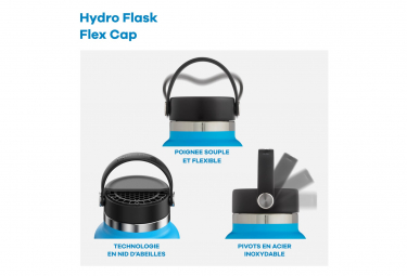 Bouteille Hydro Flask Standard Flex Cap 530 ml Gris