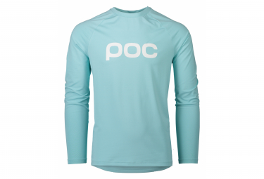 Poc Essential Enduro Long Sleeve Jersey Light Kalkopyrit Blue