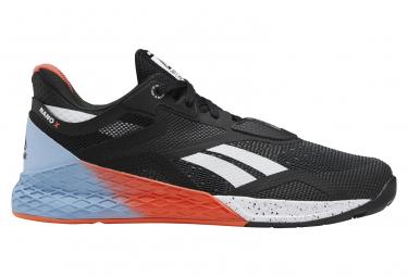 Reebok Nano X Crossfit Black Red Blue Mens Shoes