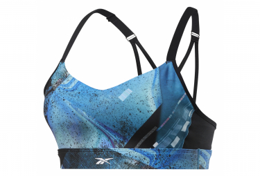 Reebok Bra Hero Strappy Urban Blue Women