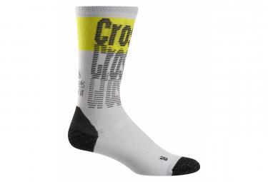 Reebok Socks Crossfit ENG Crew White Yellow Unisex