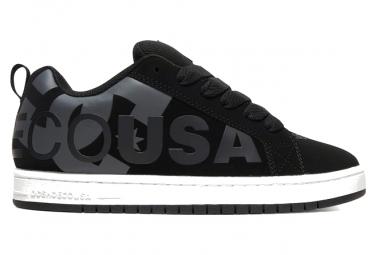 Zapatos DC Court Graffik Shoes Negro / Gris