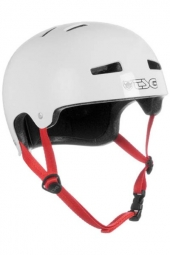 TSG Evolution Helmet Bowl Solid White L / XL