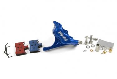 Bremssattel Hope RX4 Bremssattel FlatMount AV Blau Shimano HBSPC64B
