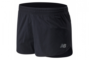 New Balance Women's Accelerate 2in Shorts Black