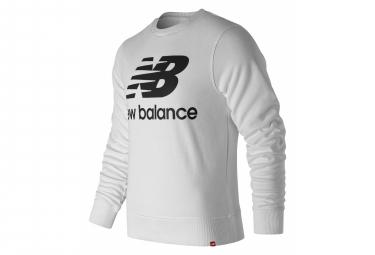 New Balance Essentials Logo Sweatshirt White Men